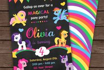 ~My little pony Party°