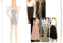 V body shape/ inverted triangle