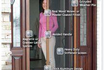 Retractable Fly Screen (Front Door)