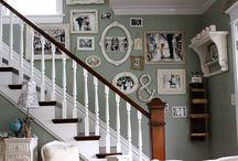living room ideas / by Kim Winkfield Bowman
