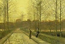 Herbst / Autumn / Wunderschöne Kunstwerke und Fotografien zum Thema Herbst