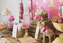 AG First Birthday / The Adventures of Gaylyn and Lezzie - Party Planner style!