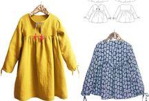 Sewing vêtements enfants