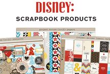 Disney Scrapbook Products / Digital & Hybrid Scrapbooking Products by Sahlin Studio - Perfect for scrapbooking your Disney memories!! Available at http://sahlinstudio.com/