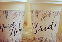 Quirky wedding ideas / The little details that make a difference.