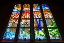 Új templom üveg / New Church glass /