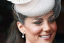 Kate Middledon: Style & Pearls / Kate Middleton / Kate Middleton Wearing Pearls /Kate's Pearls / Kate Middleton Pearl Earrings / Pearl Earrings / The Duchess wearing pearls / The Duchess and pearls