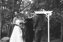Ceremonies at The Lodge / Indoors or out, customize your wedding reception on site at The Lodge at Mountain Springs Lake Resort