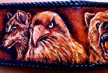 Wild animals wallet / .