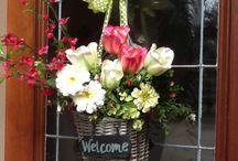 Wreaths and Door Decor