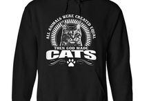 Cat T-Shirts / A collection of cat inspired t-shirts, sweatshirts, hoodies, tank tops, and other custom merch from around the internet.