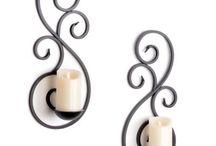 kynttilät ja sommittelu