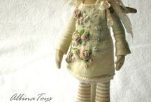 cloth dolls / by Astrid van Vemden