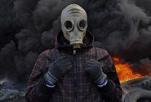gasmask / underground