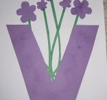 Letter Vv / activities to help toddlers and preschoolers learn the alphabet; fun ideas for crafts, activities, games, and snacks