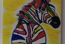Mijn werk / Acryl op doek
