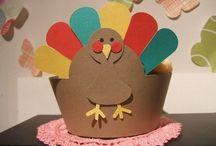 thanksgiving for the kiddos / by Carol Nolan