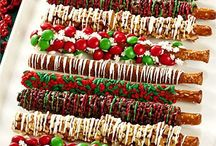 Christmas candies/cakes/cookies and bars