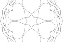 Mandalas / kostenlose Mandala-Ausmalbilder