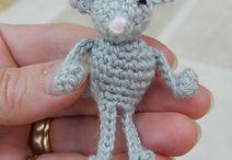Haken poppen beesten muizen