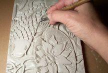 Clay tile ideas junior