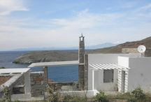 Villa Ammoudia #Kea #Greece #Island / The Epirus villa on the island of Kea was traditionally designed with local materials , while fully respecting the architecture of the island. It is a stone building of about 230 sqm on three levels in a plot of 2000 sqm on the sea. http://www.mygreek-villa.com/fr/rent-villa-search-2/villa-ammoudia
