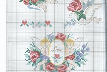 Cross stitch-angels