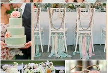 Mint and Peach Wedding / by Cherry Bomb Events