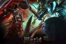World of Dungeons ( in development ) / World of Dungeons is a turn-based fantasy war game with elements of RPG, turn-based strategy, and MOBA games. Controlling a group of characters, players will explore different worlds, use their swords and magic to fight various monsters in turn-based mode, acquire magic items, learn new skills and spells.