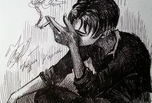 smoking Levi