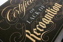 T Y P O G R A P H Y //deputamadre / Typography