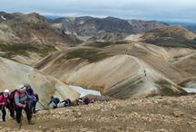 Icelandic Hiking Trails / With beautiful diversity, Iceland is known for it's famous hiking trails in the World!