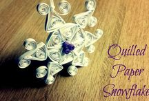 Winter Quilling / Quilling Ideas for Winter Season