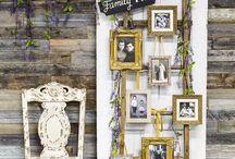 Hochzeitsinspiration / Hier findet ihr originelle Hochzeitsideen. Dekorationen mit Wow Effekt oder einfach liebevolle Hingucker.