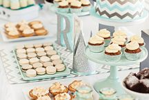 dessert tables, sweet tables & candy bars