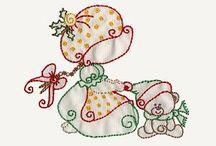 Sun Bonnet / Muñecas