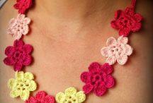 Crochet - gioielli forcine cerchietti