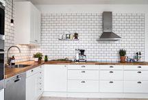 Tile kitchen design