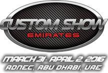 Custom Show Emirates / Custom Jeeps, cars and bikes