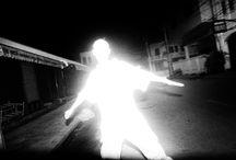Silhouette ombre et lumière en photographie
