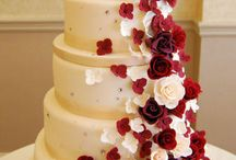 Red Wedding Cakes