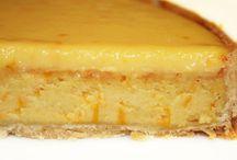 tartes salées/sucrées