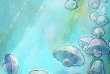 víz alatt