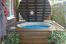 Hot Tub ideas!x
