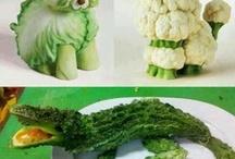 nápady ze zeleniny