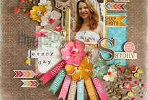 Scrapbooking: pages