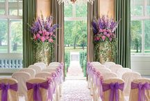 Aisle decor