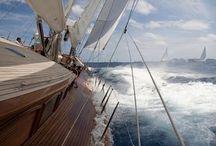 Boote und Segeln