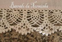 Crochet Edgings / Tığ işi kenar örnekleri