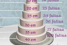 bolos e medidas